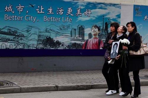 悼念11.15上海特大火灾