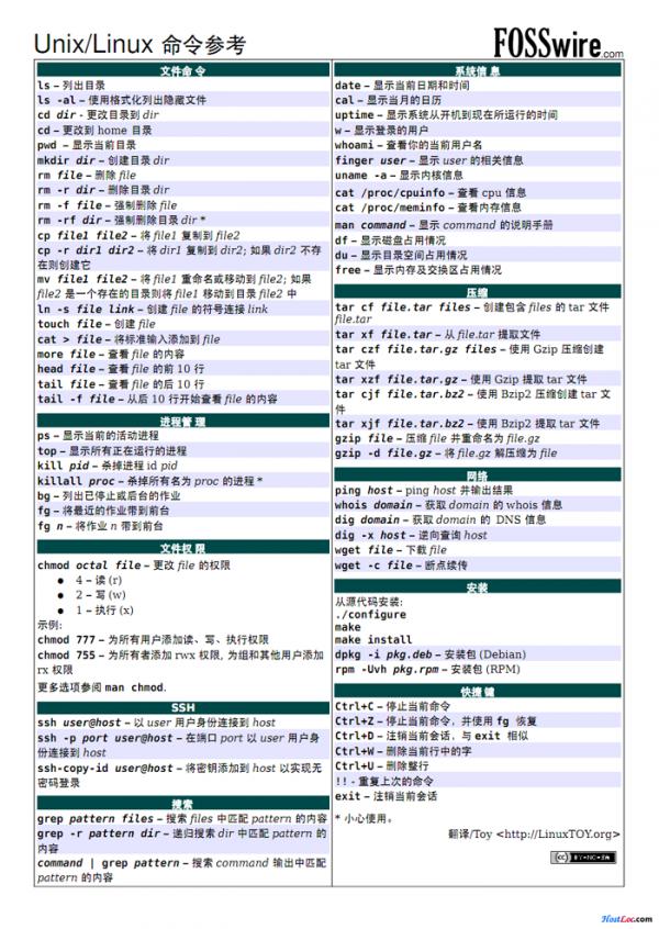 Linux基本常用命令